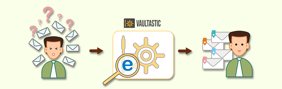 Leverage your archived email data with Vaultastic ediscovery
