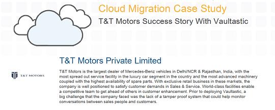 T & T Motor's Success Story With Vaultastic