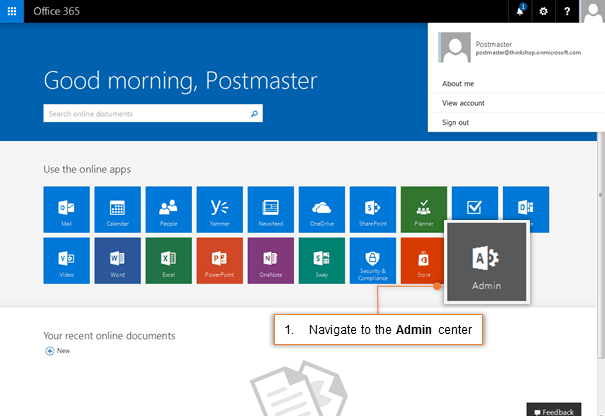 Step 3: Configure Journaling in Office 365 for All Users or
