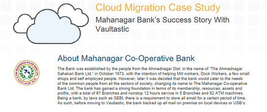 Mahanagar Bank Case Study